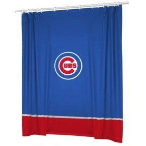 chicago cubs shower curtain chicago cubs shower curtain foter