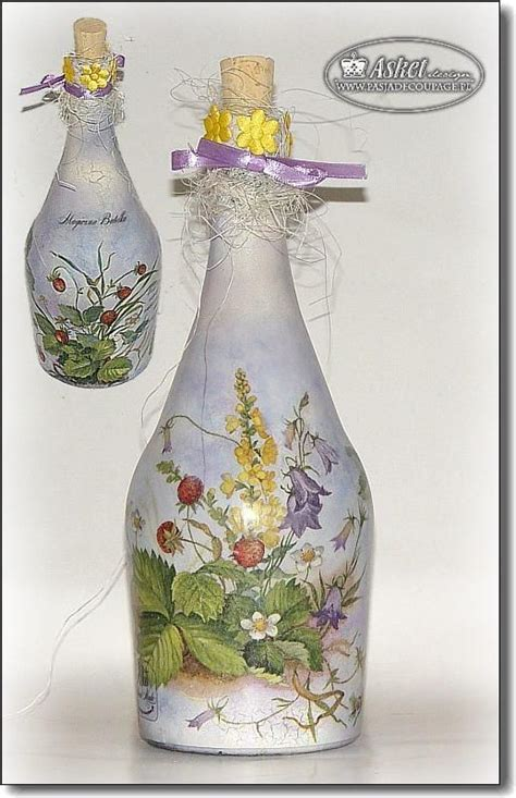Decoupage Bottle - decoupage bottle 0 187 jpg craft