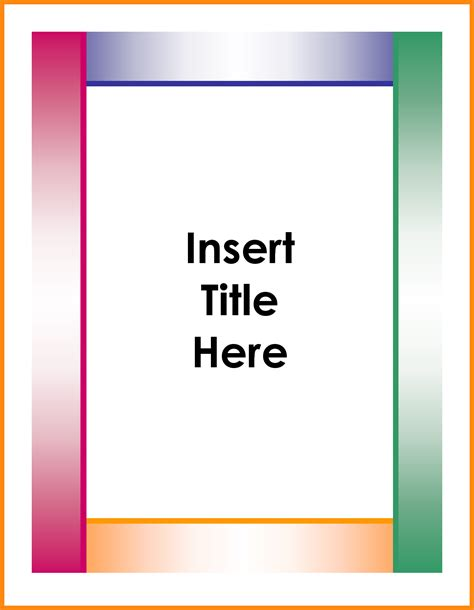 file cover page templates www pixshark images