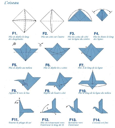 Le Origami - oiseau origami vous pourrez retrouver le mat 233 riel