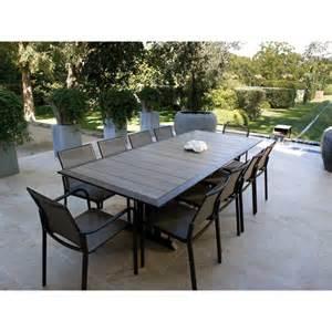 table de jardin ronde robin naterial jsscene des