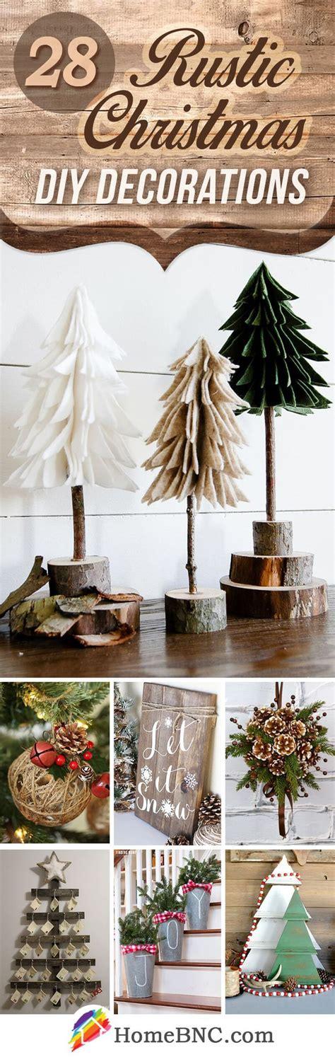 rustic diy christmas home decor ideas   happy