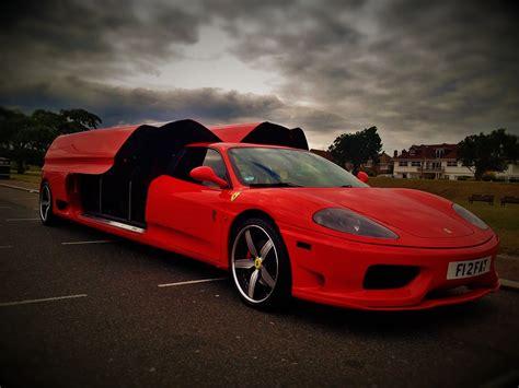 Ferrari 360 Hire by Ferrari 360 Modena Stretch Limo Hire Leicester