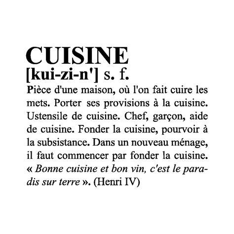 la cuisine definition definition voyages cartes