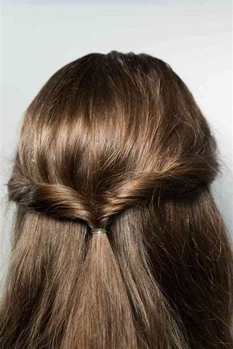 Simple Half Up Half Hairstyles by Half Up Half Hairstyles Tutorials And Hair Trends