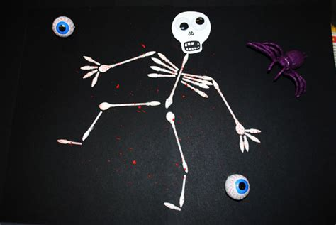 How To Make A Human Skeleton Out Of Paper - crafts for decorations and more