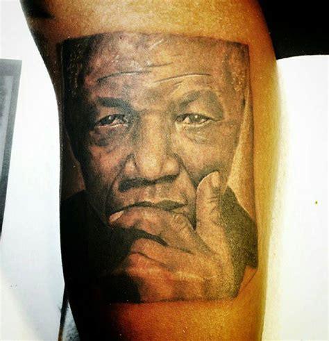 nelson mandela tattoo tattoo artist cjgotink opens unique tattoo shop art