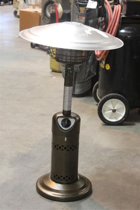 living accents tabletop patio heater property room
