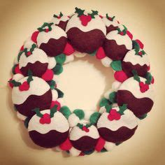 polystyrene wreath wrapped  christmas ribbon  decorated  odds  ends crafting