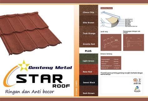 Harga Metal genteng metal roof raibow jakarta bogor depok