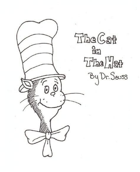 cat in the hat coloring pages free printable free dr seuss the cat in the hat coloring pages free