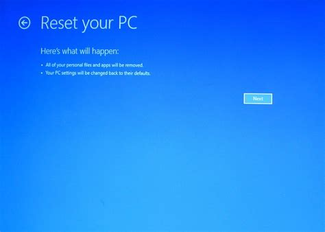 windows resetting your pc reset your pc from a windows 8 recovery drive techrepublic