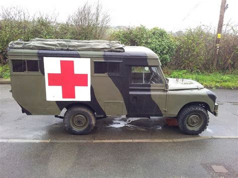 land rover defender ambulance for sale landrover defender landrover series 2a marshall ambulance