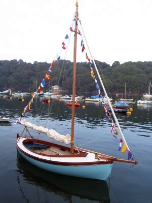 double ended day sailer built  marcus lewis  sale