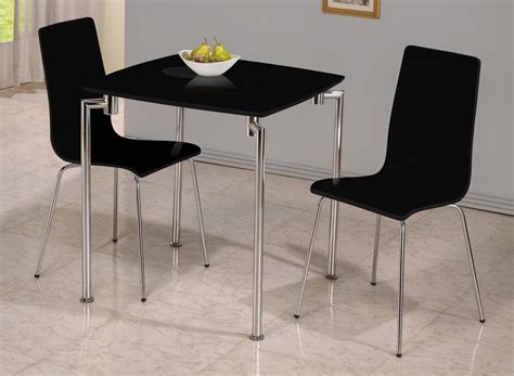 Dining Table Sets For 2 Dockland Prestige Residential 187 Fiji High Gloss Small Dining Set Black
