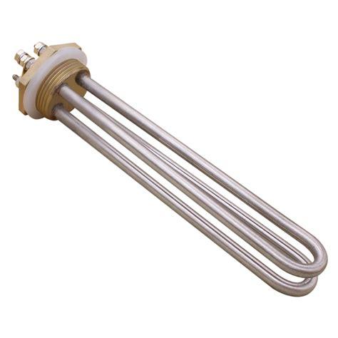 Immersion Heater Elemen Heater Elemen Pemanas aliexpress buy dc 48v 1500w u type dc tubular water heater element immersion heater