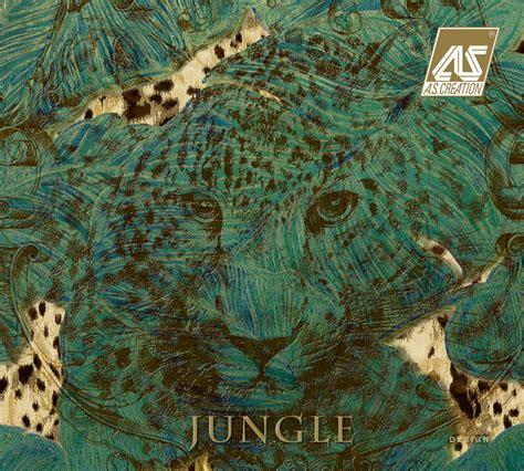 tapete jungle jungle a s cr 233 ation tapeten ag