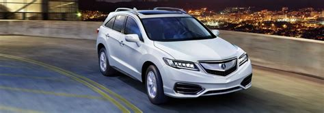 white acura suv best 2017 acura suvs with space for car seats and cargo