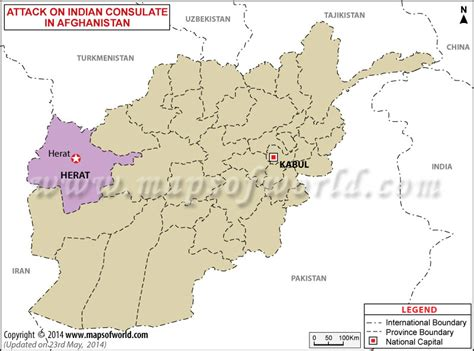 herat map attack on indian consulate in herat afghanistan world news