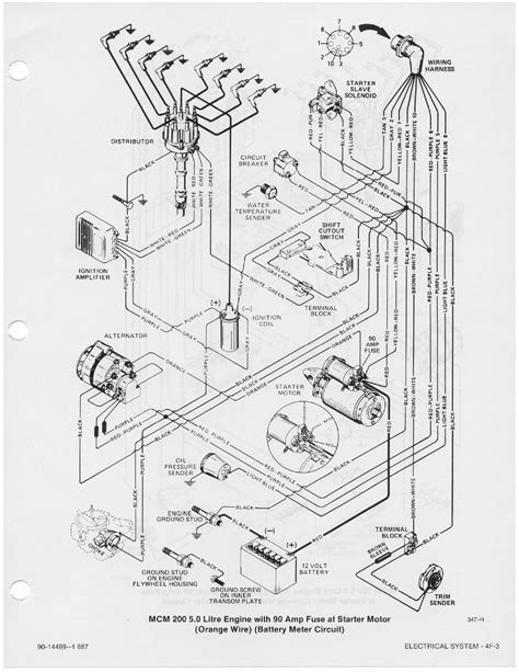Mercruiser Diagram 3 0 mercruiser distributor wiring diagram 3 free engine