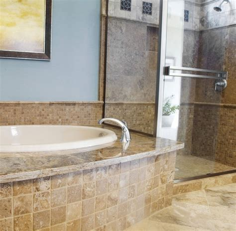miscellaneous images of bathroom tile with granite wall - Granite Bathroom Tile