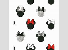 Minnie Sparkle Wallpaper - Black & Red   DIY - B&M Mickey And Minnie Mouse Tumblr Black And White