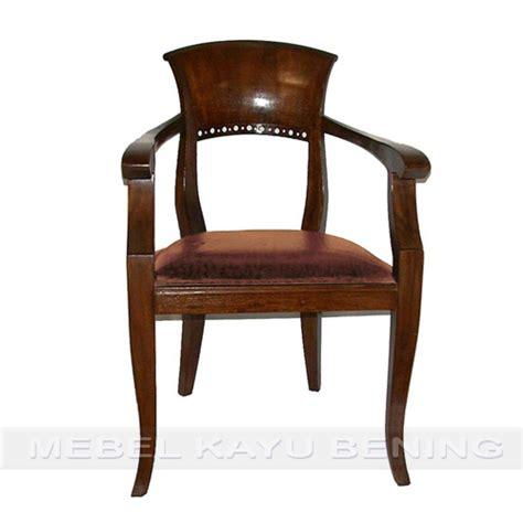 Kursi Kayu Antik kursi makan antik kayu jati kipas tanganan mebel kayu bening