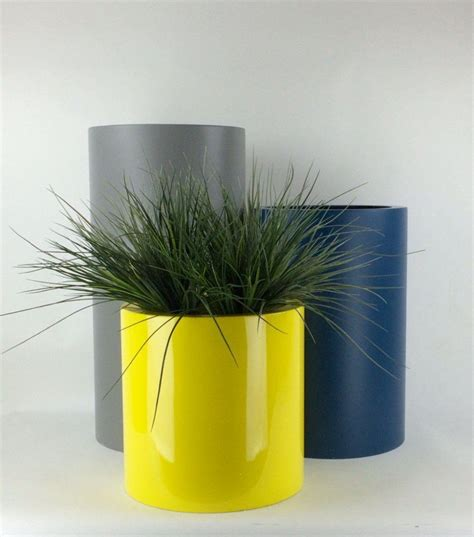 tall cylinder planters grp  potstorecouk
