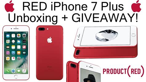 Free Iphone 7 Plus Giveaway - iphone 7 plus red giveaway free youtube