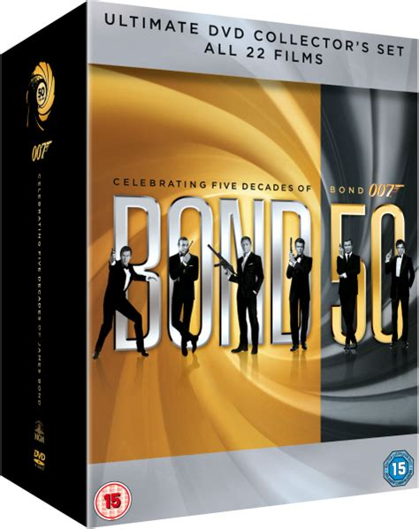 the complete james bond the complete james bond collection dvd zavvi com