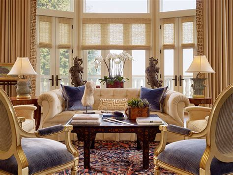 Traditional Living Room by Traditional Living Room Ideas Using Luxury Fabrics