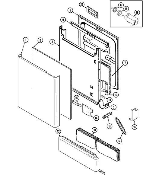 maytag dishwasher parts diagram maytag mdb6000awa timer stove clocks and appliance timers