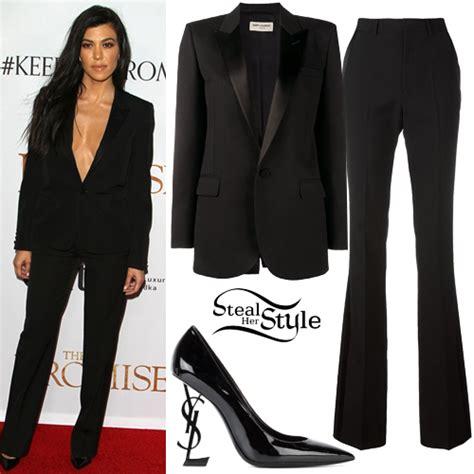 kourtney kardashian clothes outfits steal  style