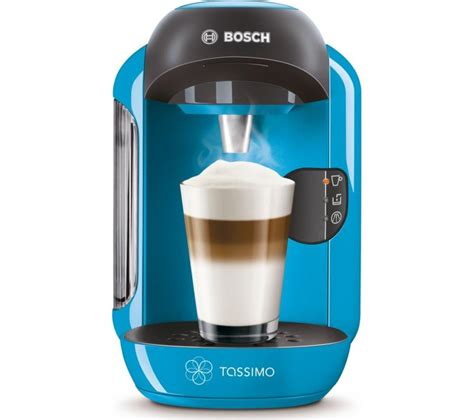 Buy TASSIMO by Bosch Vivy II TAS1255GB Hot Drinks Machine   Blue   Free Delivery   Currys