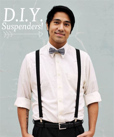 2013 music video suspenders beard 32 diy prom accessories that will make you the coolest kid