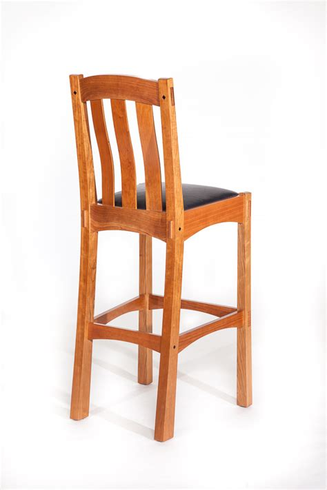 Arts And Crafts Style Bar Stools arts and crafts style bar stool