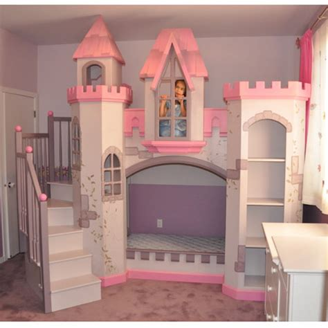 Princess Bunk Bed Castle Baby Furniture Bedding Anatolian Castle Bunk Bed