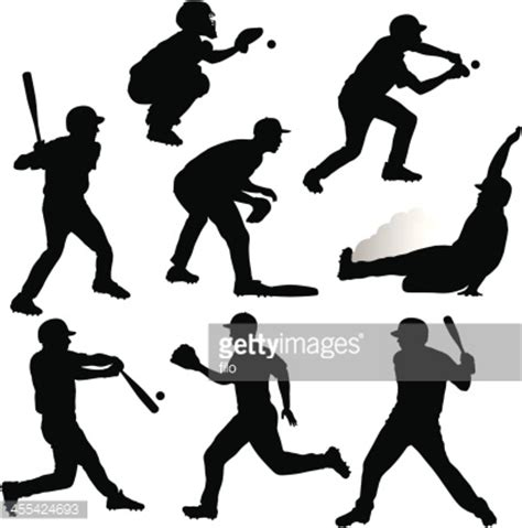 download art d 233 coration n 506 juin 2015 online magazine baseball silhouettes vector art getty images