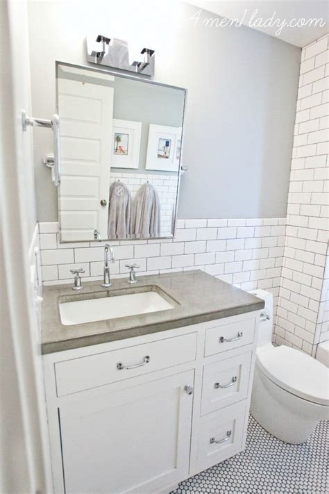 Non Slip Bathroom Flooring Ideas by 30 Penny Tile Designs That Look Like A Million Bucks