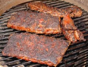 whatever floats your boat st louis slow burn st louis spare ribs with chipotle rub