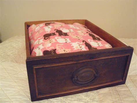 dresser dog bed pet bed vintage upcycled antique dresser drawer pered