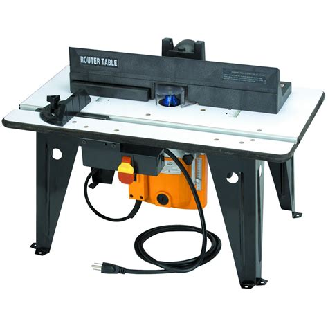 bench power tools benchtop router table with 1 3 4 hp router