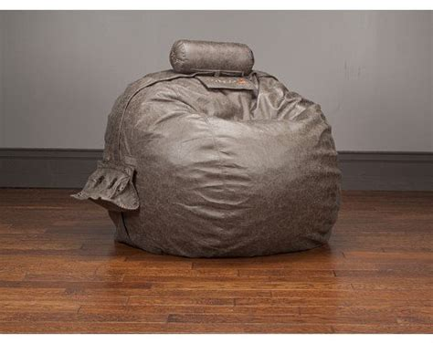 lovesac pillow sac lovesac smoke microleather tubesac pillow for oversized sacs