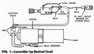1964 Mustang Black Fords Unlimited Car Club Tech Info Convertible Top Repair Amp Adjustment Manual