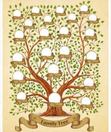 Free Templates For Family Trees by Family Tree Template 50 Free Documents In Pdf