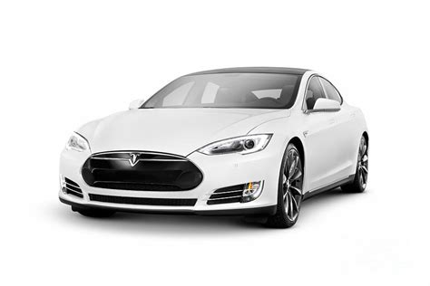 Car Model Tesla White Tesla Model S Luxury Electric Car Photograph By