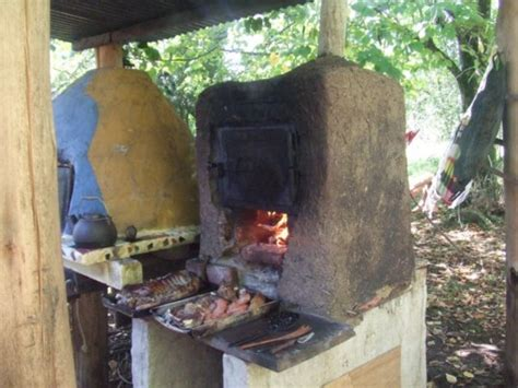 traditional mud brick oven photo