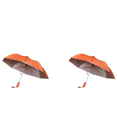 Bs Orange bs orange umbrella pack of 2 buy at low price in india snapdeal