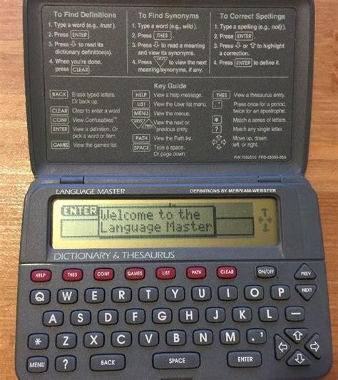 franklin scrabble master as 25 melhores ideias de electronic dictionary no