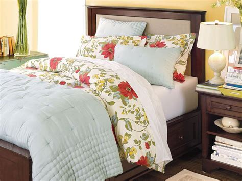 Pottery Barn Bedroom Bedding colorful and vibrant bedroom linens hgtv